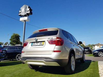 used BMW X3 SDrive Gps Nacional 1Dono