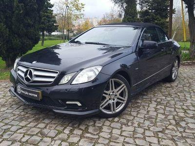 usado Mercedes E220 CDI AMG Cábrio