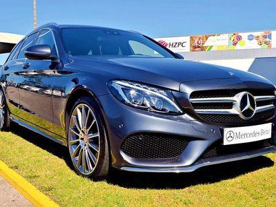 usado Mercedes C220 d Bluetec AMG T