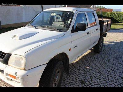 gebraucht Mitsubishi L200 4x4 Diesel