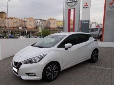 usado Nissan Micra Acenta Navegação + JLL Viatura de Serviço