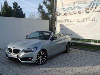 usado BMW 220 Série 2 d Line Sport Auto 2016