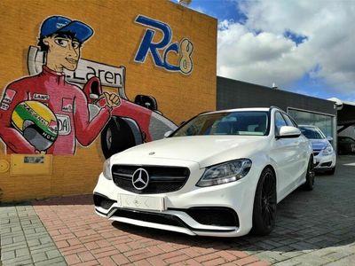 usado Mercedes C200 BlueTec AMG Line