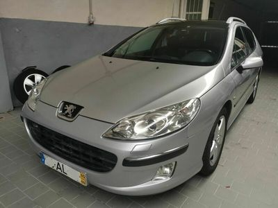 usado Peugeot 407 SW 2.0 HDi Executive Auto Pele Nacional