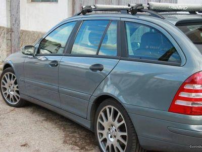 usado Mercedes C200 cdi - troco