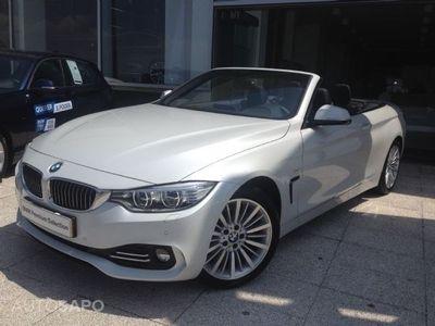 usado BMW 420 Série 3 serie 4 cabrio diesel d line luxury auto