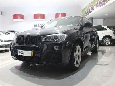 usado BMW X4 2.0D X-Drive 190CV PACK-M