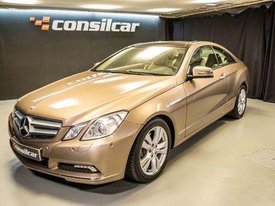 usado Mercedes E250 CDI Coupe M6 Avantgarde Pack Navi