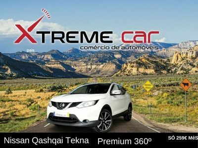 usado Nissan Qashqai TEKNA PREMIUM 360º