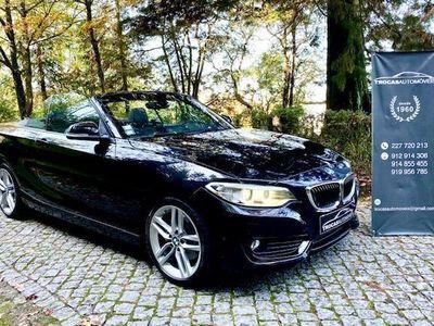 usado BMW 220 dA CABRIO (AUTOM)