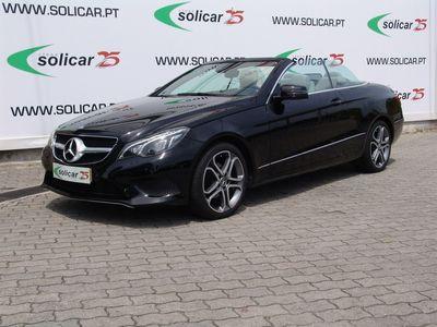 used Mercedes E220 CDI BE Cabrio