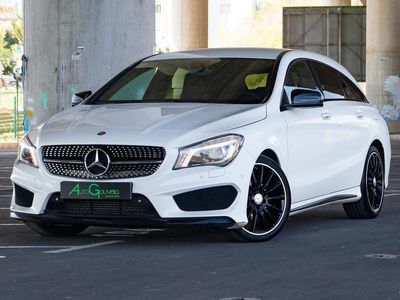 used Mercedes CLA200 Shooting Brake d AMG