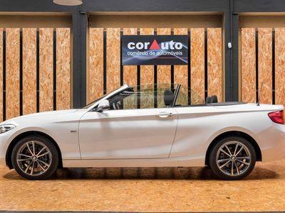 usado BMW 218 D SportLine Cabriolet
