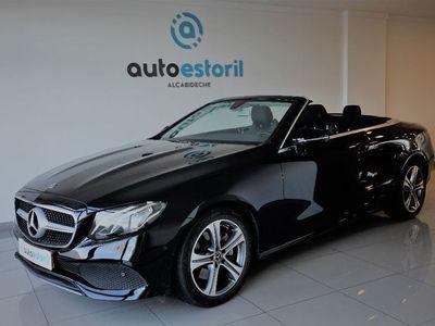 usado Mercedes E220 ClasseCabrio Avantgarde 9G-Tronic