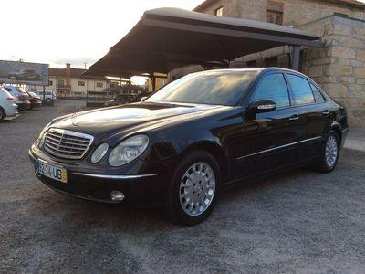 usado Mercedes E270 270 CDI Elegance CX Automática selo antigo