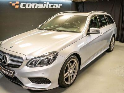 usado Mercedes E300 Station Bluetec Hybrid AMG Pack Navi/TV
