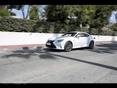 usado Lexus RC300h F Sport