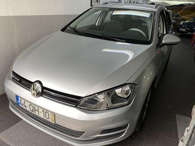 usado VW Golf Variant 1.6 tdi Confortline Bluemotion