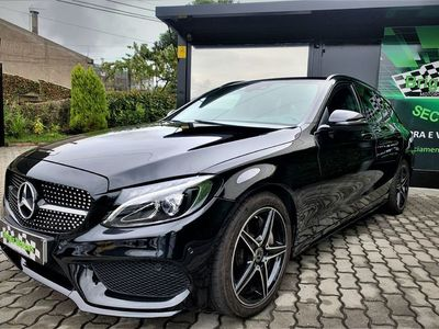 usado Mercedes C250 d AMG Line Aut.