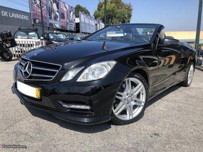usado Mercedes E250 CDi Cabrio AMG Auto.