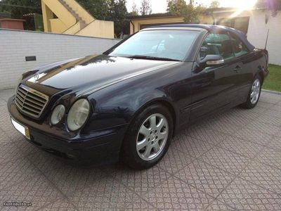 usado Mercedes CLK200 Kompressor cabrio