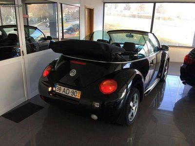 used VW Beetle NewCabriolet 1.4i AC Nacional