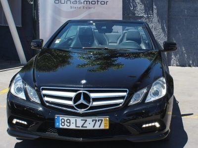 usado Mercedes E220 AMG Line Cabrio