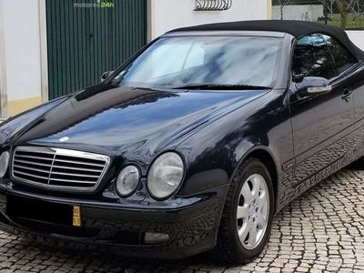 usado Mercedes CLK200 Classe Cabrio Kompressor Avantgarde