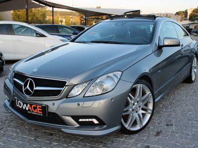 usado Mercedes E250 CDI Coupé AMG Teto Panoramico