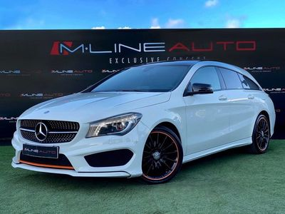 usado Mercedes CLA200 Shooting Brake ORANGE EDITION