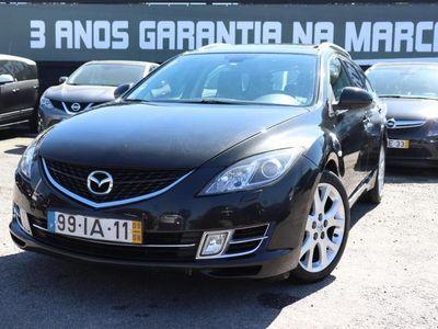 usado Mazda 6 SW 2.2 MZR-CD 185cv AC+Pele