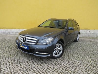 begagnad Mercedes C220 Station Avantgarde BE