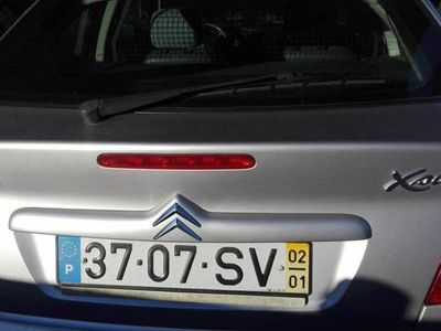 usado Citroën Xsara 1.9 diesel 2 lugares -