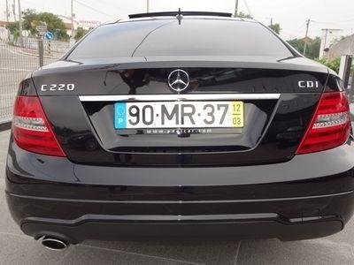 usado Mercedes C220 220 COUPE BLUE. AMG
