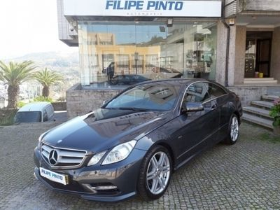 usado Mercedes E250 Classe Coupe CDI AMG BlueEfficiency