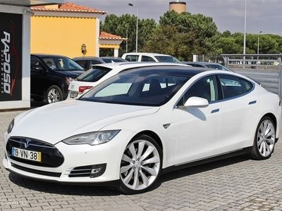 gebraucht Tesla Model S Model S85 Perfomance (421cv) (5p)
