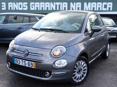 usado Fiat 500 1.2 Lounge Cabrio