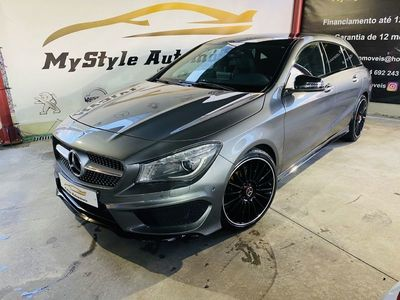 usado Mercedes CLA200 Shooting Brake AMG pack night edition