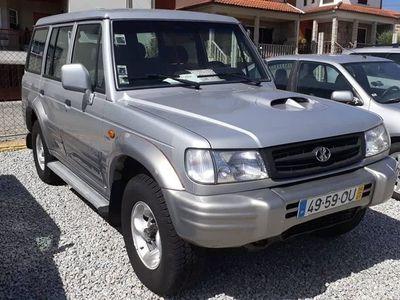usado Hyundai Galloper 2.5 Intercooler Turbo
