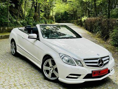 usado Mercedes E220 AMG Avantgarde Cabrio