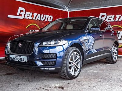 usado Jaguar F-Pace 2.0 i4D Prestige Aut. (180cv) (5p)