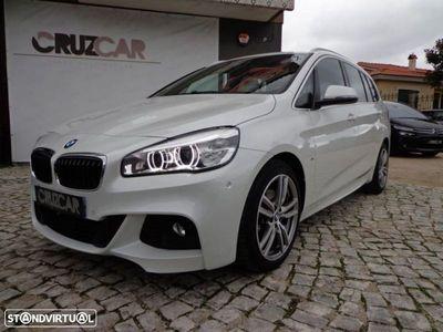 usado BMW 218 d 7l pack m auto