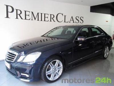 usado Mercedes E250 CDI Avantgard AMG (NACIONAL)