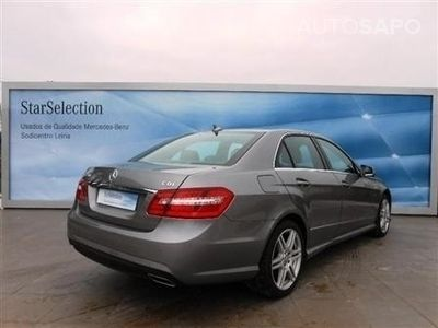 usado Mercedes E250 ClasseCDI BE AMG cx automatica
