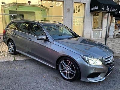 usado Mercedes E300 BLUETEC HYBRID AMG