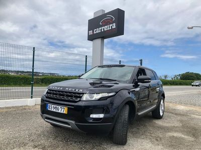 used Land Rover Range Rover evoque ---