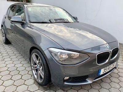 usado BMW 118 d Sport Line Aut.143cv