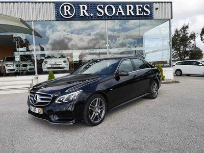 usado Mercedes E250 AMG Bluetec Avantagard Aut. (204cv)