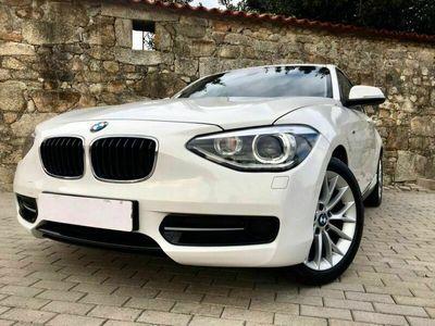 usado BMW 116 D Line Sport motor 2000cc