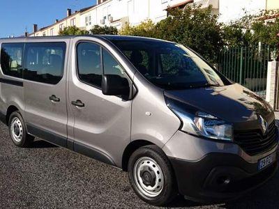 usado Renault Trafic 1.6DCI 9Lug 120cv